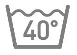 Wash at or below 40° C